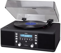 Teac LP-R400 platenspeler cd recorder en radio